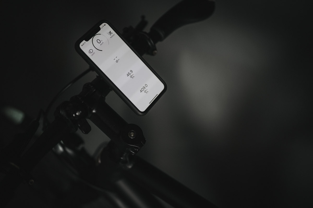 Ampler App mit Navigationssystem