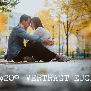Paarshooting im Herbst am Potsdamer Platz